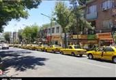 کهگیلویه و بویراحمد| چانه زنی رانندگان تاکسی در دهدشت بر سر افزایش کرایه