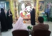 عقد زوج جوان در موزه گلزار شهدای چیذر