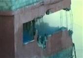 فیلم/ لحظه انفجار منزل خانواده فلسطینی توسط اشغالگران