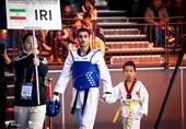 مسابقات تکواندو گرنداِسلم| آرمین هادیپور به نشان برنز دست یافت