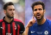 فوتبال جهان| چالهاناوغلو از میلان میرود، فابرگاس میآید