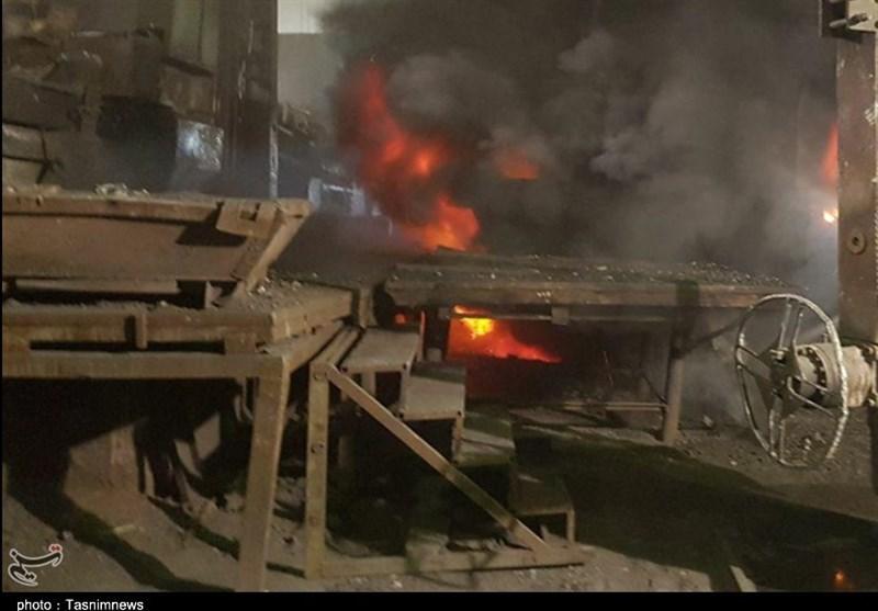 جدیدترین جزئیات از آتشسوزی در شهر صنعتی کاوه ساوه؛ اطفای حریق پس از چندساعت تلاش +عکس