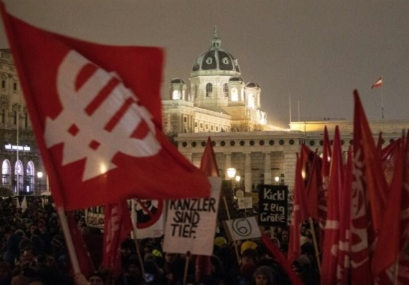 Austrians Protest Rightwing Coalition Tough on Migrants