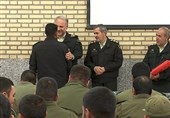 11 سرباز نمونه استان خراسان جنوبی تجلیل شدند