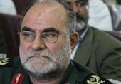 خوزستان| پیکر شهید سردار منصوری فرمانده قرارگاه منطقهای ثامن الائمه(ع) در ایذه تشییع میشود