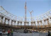 فیلم/ گزارش اختصاصی خبرنگار تسنیم از ورزشگاه جام جهانی در دل صحرا
