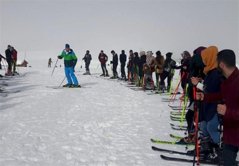 اسکی در حکاری٬ در مرز ایران و ترکیه + عکس