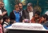 """جشن """"لبخند ماندگار"""" ویژه کودکان سرطانی در بیرجند برگزار شد"""