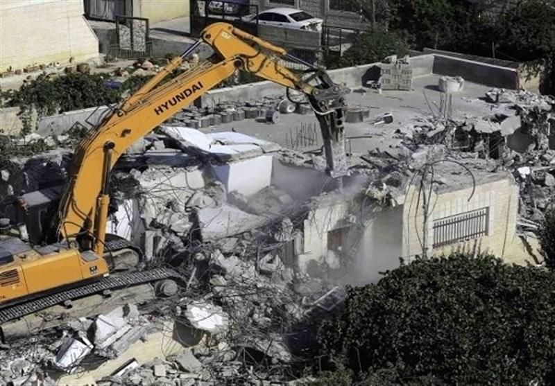 ادامه سیاست نژادپرستانه اسرائیل در تخریب منازل فلسطینیان