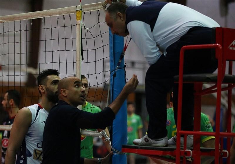 محمدیراد: شایسته صدرنشینی در لیگ والیبال هستیم/ داور دوم، روان ما را به هم ریخت