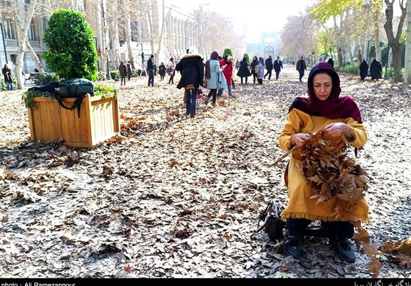 تصاویری پاییزی از میدان مشق / میدانی با رویدادهای تاریخی فرود نخستین هواپیما تا اعدام دو شخصیت ایرانی