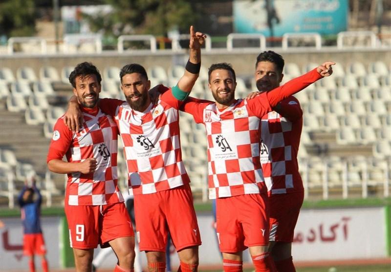 لیگ دسته اول فوتبال| برتری شاهین، سرخپوشان و آلومینیوم و توقف مس کرمان مقابل ملوان