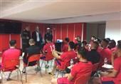 نشست مهم عرب با 5 بازیکن معترض پرسپولیس و برانکو
