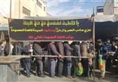 برپایی موکب عراقیها در قم + عکس و فیلم