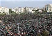رسانه اسرائیلی: نیم میلیون نفر در مراسم سالگرد تأسیس حماس شرکت کردند 