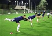 برگزاری اولین تمرین تیم ملی فوتبال در قطر/ بازیکنان با کودکان تمرین کردند! + عکس