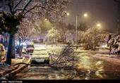 بارش برف، باران و مهگرفتگی در محورهای 12 استان کشور
