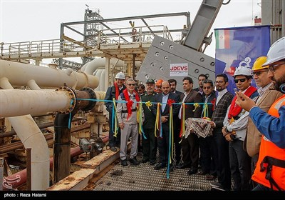 افتتاح پروژه تحقیقاتی - پژوهشی طراحی و ساخت اولین بازوی بارگیری نفت خام در کشور