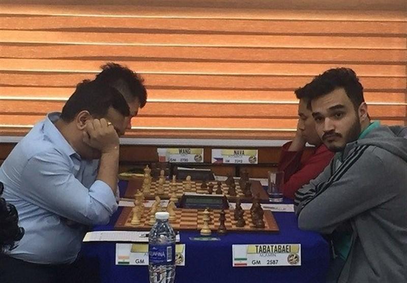 قهرمانی محمدامین طباطبایی در مسابقات شطرنج بیل سوئیس
