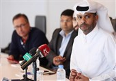 ناصر الخاطر: قطر حق میزبانی از جام جهانی۲۰۲۲ را با ۳۲ تیم میخواهد + فیلم