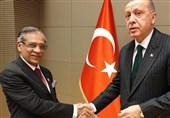 چیف جسٹس کی ترک صدر رجب طیب اردوان سے ملاقات، اہم امور پرتبادلہ خیال