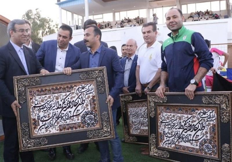 تجلیل از گلزنان جامجهانى و برتری تیم فوتبال امید ایران برابر سوریه در نیمه اول