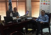 دیدار مشاور رئیس فدراسیون جهانی شطرنج با پهلوانزاده