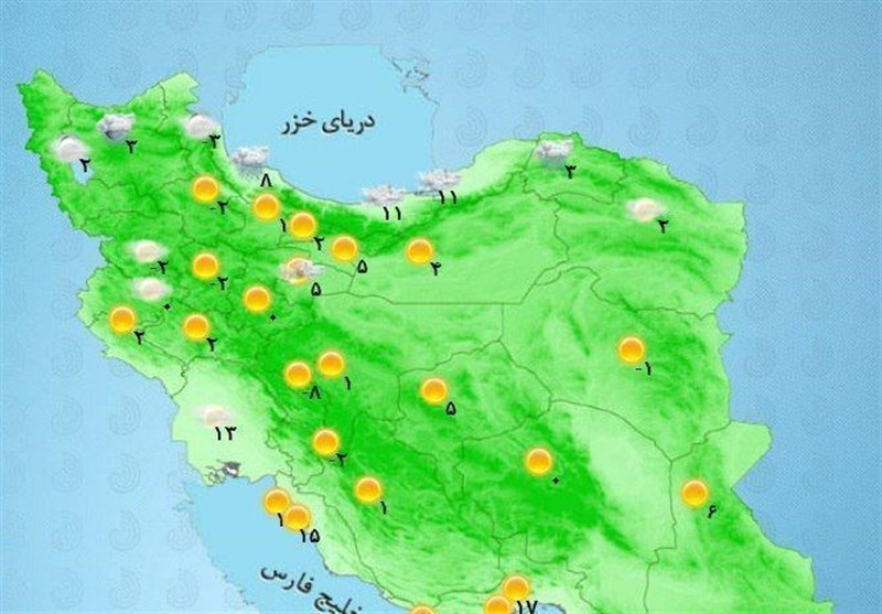 پیش بینی های هواشناسی کشاورزی برای روزهای آینده