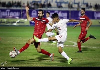 دیدار تیمهای فوتبال امید ایران و سوریه