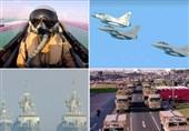 قطر یک سال و نیم پس از محاصره؛ خط و نشان دوحه برای ریاض در یک رژه بزرگ نظامی+ فیلم و عکس