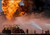 آتشسوزی گسترده یک انبار در خیابان فداییان