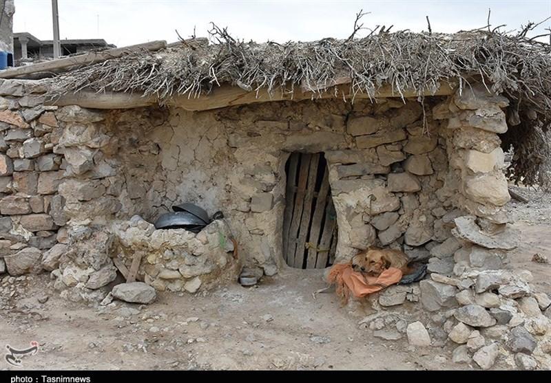 """روایتی از عمق محرومیت روستای """"کندهای"""" کازرون؛ اینجا زمان متوقف شده است + عکس"""