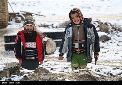 ایران کے صوبہ خراسان شمالی میں سال کی پہلی برف باری