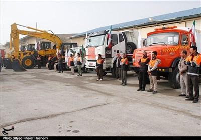 آمادهباش نیروهای راهداری اصفهان در صورت بارش تگرگ و باران شدید