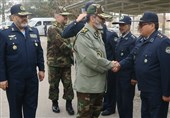 سرلشکر موسوی از پایگاه هوایی مشهد بازدید کرد