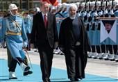 استقبال رسمی للرئیس روحانی فی انقرة