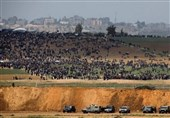 الکیان الصهیونی یشن غارات على قطاع غزة