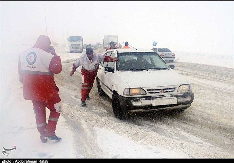 الزام تردد با زنجیر چرخ در جادههای 10 استان