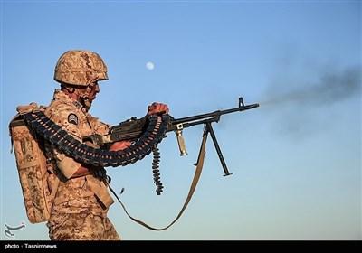 ایران کے سپاہ پاسداران کی پیامبر اعظم 12 نامی جنگی مشقیں
