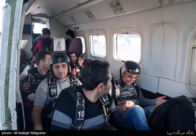 دومین رویداد سقوط آزاد در جزیره قشم