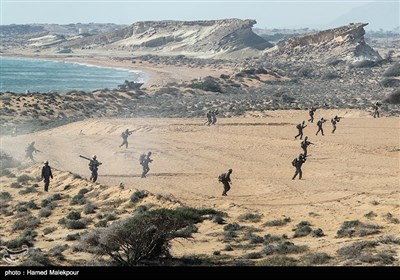 رزمایش تهاجمی پیامبر اعظم 12 سپاه - جزیره قشم