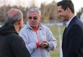 حضور سرپرست دبیرکلی فدراسیون فوتبال در تمرین ریکاوری تیم امید