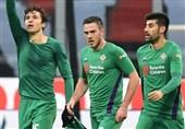فوتبال جهان| شکست خانگی میلان مقابل فیورنتینا در شب نزدیک شدن ناپولی به صدر جدول