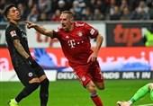 فوتبال جهان|برتری مقتدرانه بایرنمونیخ در خانه اینتراخت فرانکفورت