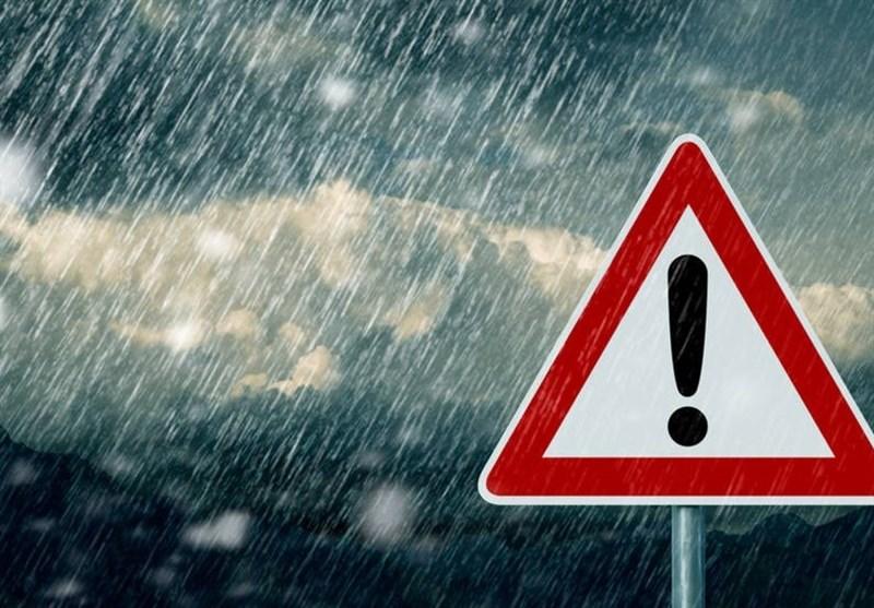 هشدار بارشهای سیلآسا در 16 استان