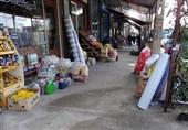 لرستان| تجاوز به حریم پیادهروها در بروجرد؛ نابسامانی وضعیت ترافیک