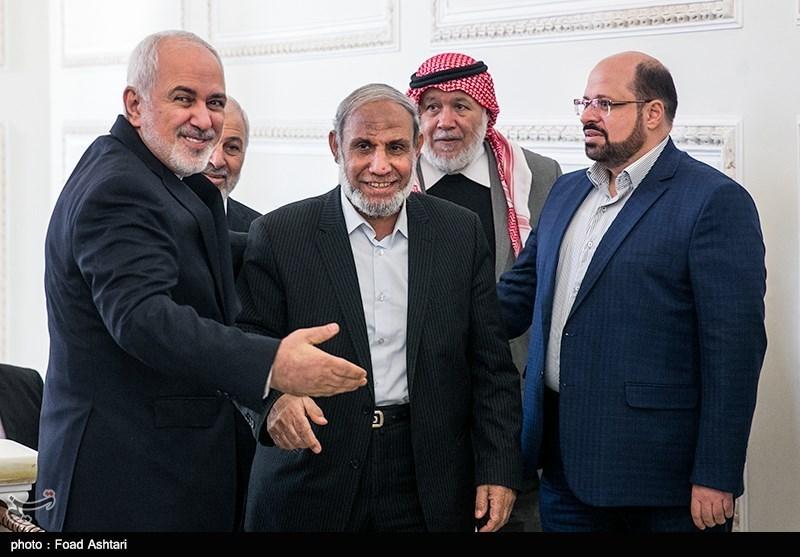 وزیر الخارجیة الإیرانی یلتقی وفدا من اعضاء المجلس التشریعی الفلسطینی