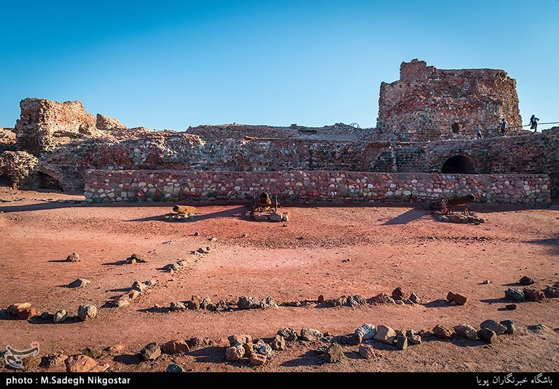 Portuguese Castle: A Red Stone Fortress on Hormuz Island, Iran