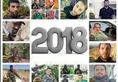جزئیاتی از شهدای مقاومت لبنان در سال 2018 میلادی+عکس