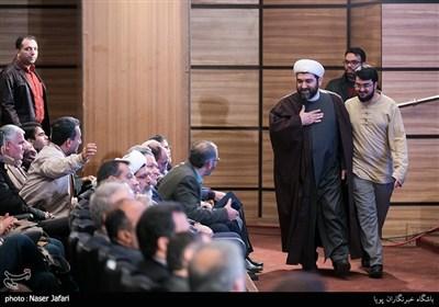 حجت الاسلام شهاب مرادی در آیین رونمایی از مستند پرتره مرتضی سرهنگی